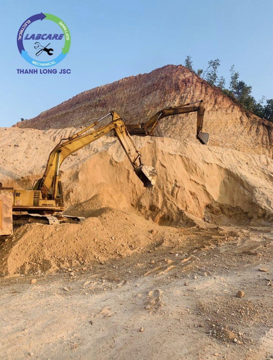 công nghệ rửa cát đồi