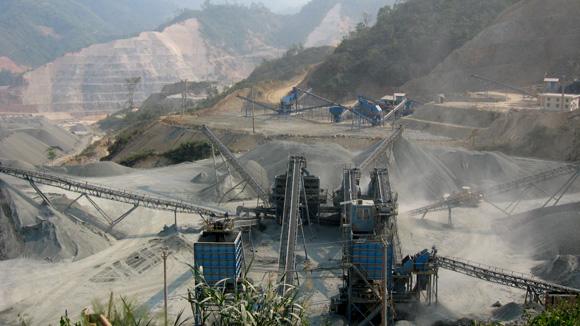 Sản xuất Bê tông đầm lăn tại thủy điện Lai Châu từ máy nghiền Barmac VSI Metso