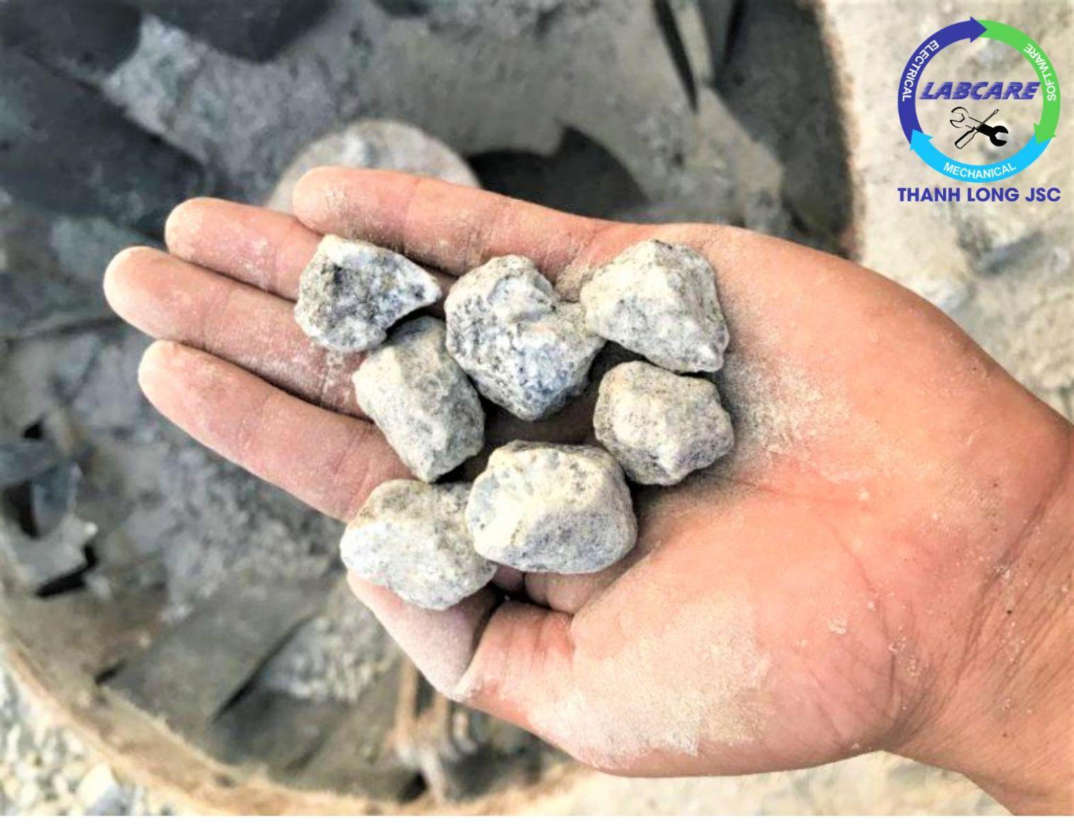 trạm vo đá cho cao tốc đoạn Vĩnh Hảo- Phan Thiết sử dụng máy vo đá Metso