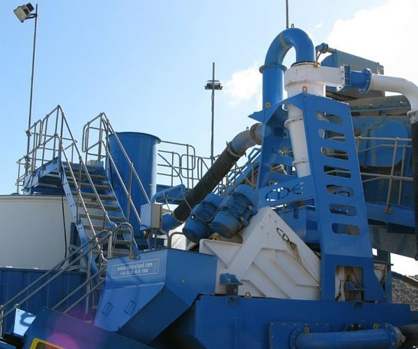 Máy rửa cát CDE (Nguồn: Internet)